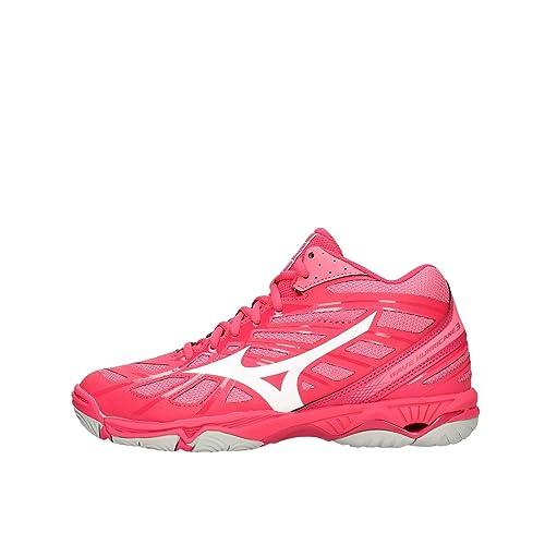 Mizuno Wave Hurricane 3 Mid, Zapatillas para Mujer: Amazon.es: Zapatos y complementos