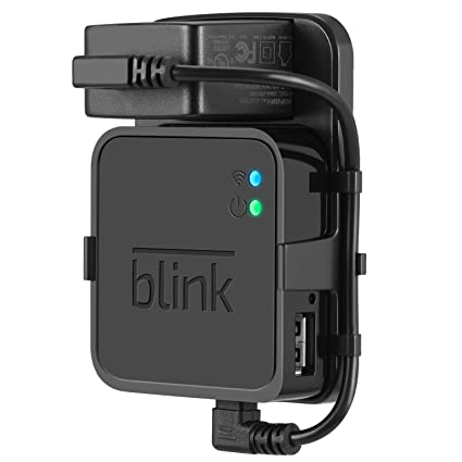Outlet Wall Mount for Blink Sync Module - Mount Bracket Holder for Blink XT  and Blink XT2 Outdoor and Indoor Home Security Camera with Easy Mount