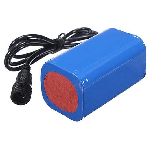 Tongshi 8.4V 6400mAh recargable 4 x 18650 batería Pack para ...