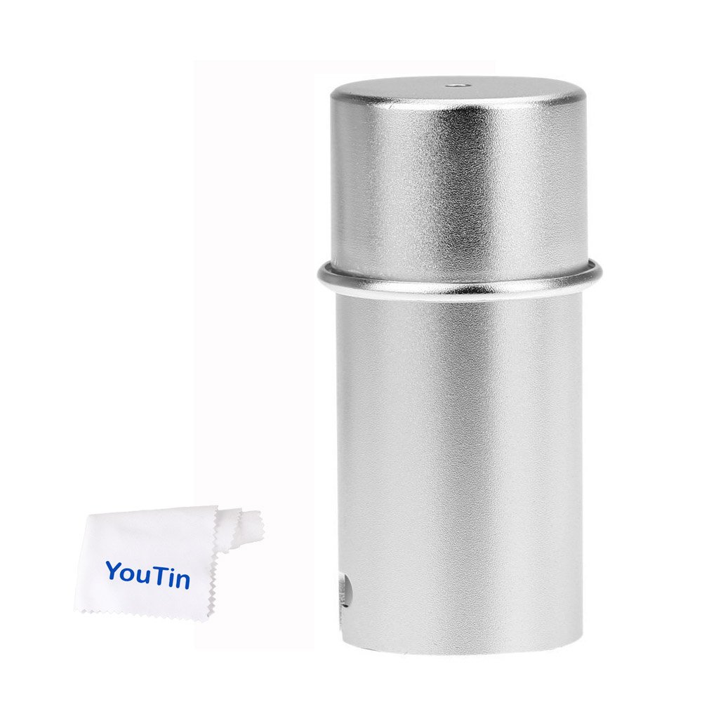 Godox AD200 Flash Lamp Protect Tube Bulb AD-S15 Slip-Over Silver Metal Protector Cover for Godox AD200 AD360 AD180