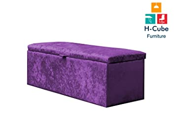 Enjoyable H Cube Furniture Royal Ottoman Treasure Storage Box Crushed Ocoug Best Dining Table And Chair Ideas Images Ocougorg