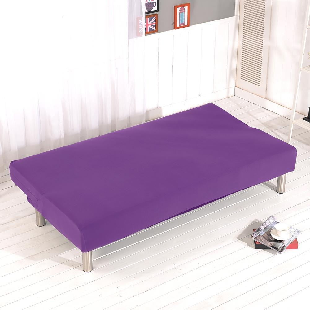 ideale per divani o divani letto Copridivano senza braccioli Copridivano elastico per divano copriletto elastico tinta unita tutto incluso