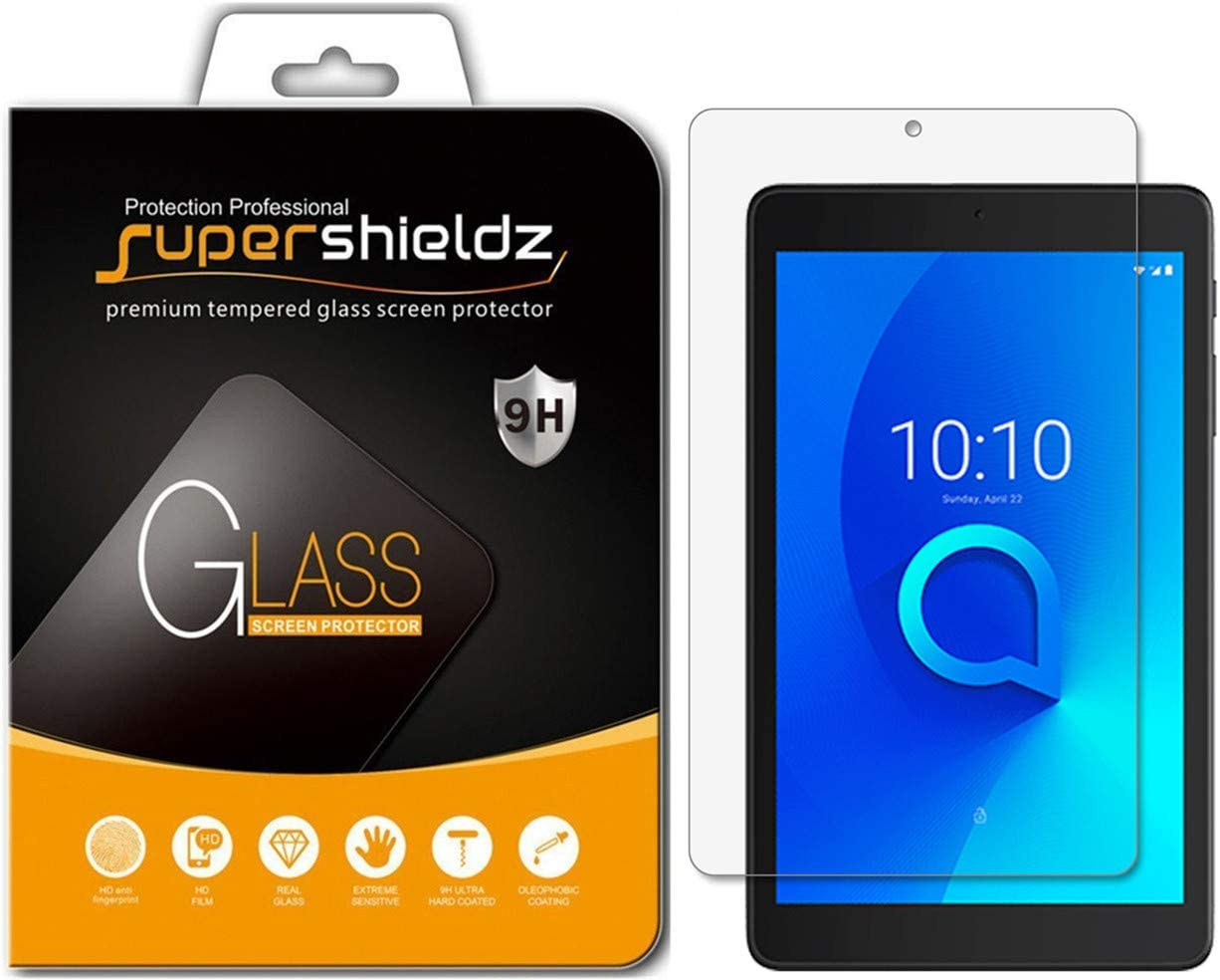 {1-3Pack} SOINEED® Alcatel 3T 8-inch Tempered Glass Screen Protector