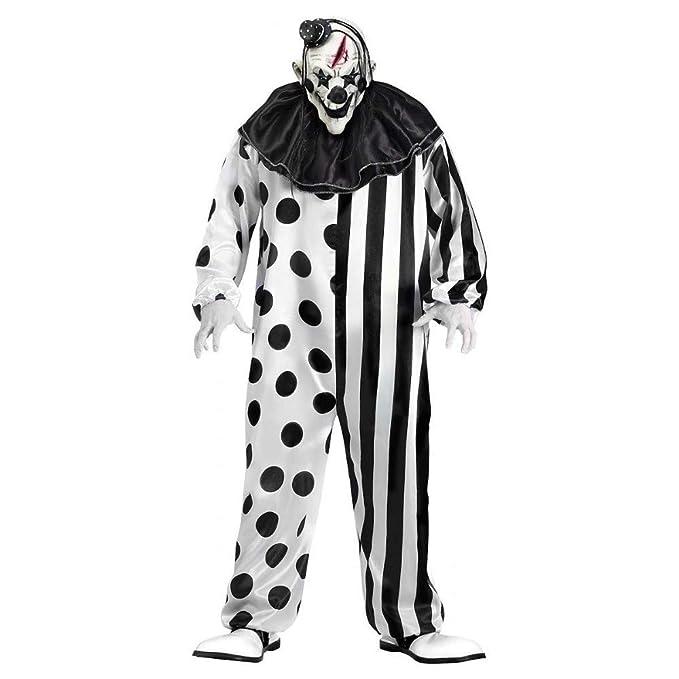 Amazon.com: Disfraz de Evil Clown para adulto, con ...