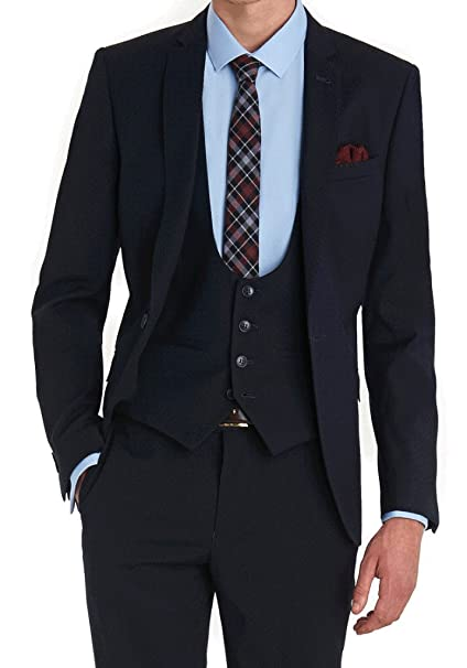 Amazon.com: Celebrity Suits 3 PC traje con chaleco y ...