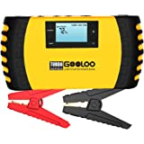 GOOLOO 1500A Peak 20800mAh SuperSafe Car Jump Starter with USB Quick Charge 3.0 (Up to 8.0L Gas, 6.0L Diesel Engine) 12V…