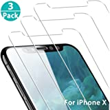 Yoyamo [3 Pack] Clear Tempered Glass Screen Protector 3D Touch Screen Protection Case for Apple iPhone Xs Max 6.5 inch