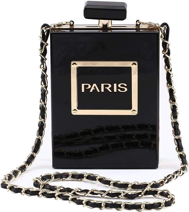 LETODE Paris Perfume Shape  Vintage Handbag