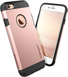Spigen Tough Armor Designed for iPhone 6S Case (2015) - Rose Gold