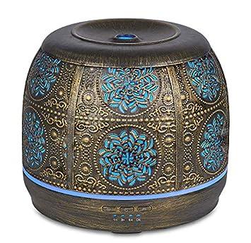 Amazon.com: Humidificador de aceite esencial de aromaterapia ...