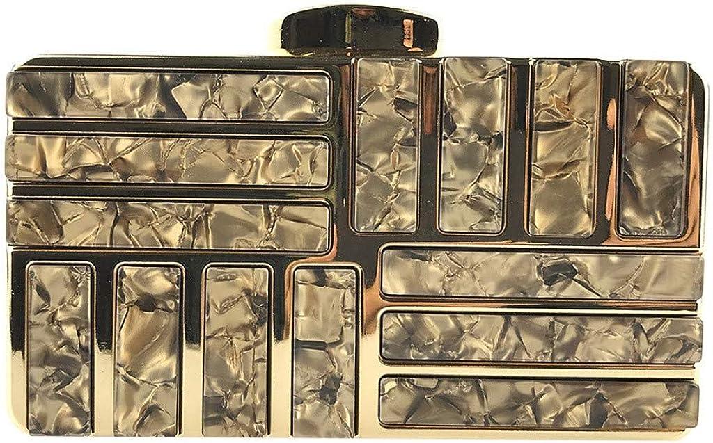 Luckycat Bolso de Fiesta Carteras de Mano Monedero para Boda Ceremonia Brillante Rhinestone Billetera para Boda Mujer Embrague mujer con correa de cadena de metal dorado Bolsa de noche