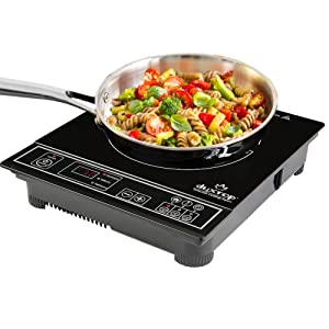 Secura 1800-Watt Portable Induction Cooktop Countertop Burner Stove 8120MC, Silver