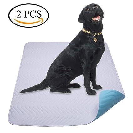 Yangbaga Empapadores Perros, Pañales Perro Lavable y Reutilizables Empapadores de Entrenamiento para Perros Grandes -
