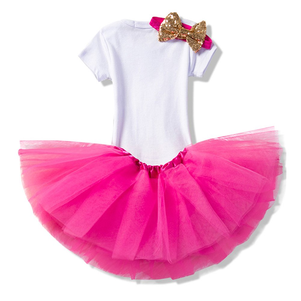 3pcs Set Completo Baby Infant Toddler Girls /È la mia 1a torta di Compleanno Smash Shiny Stampato con Fiocco bow Tutu Princess Bowknot Christmas Dress Ananas viola//12mese