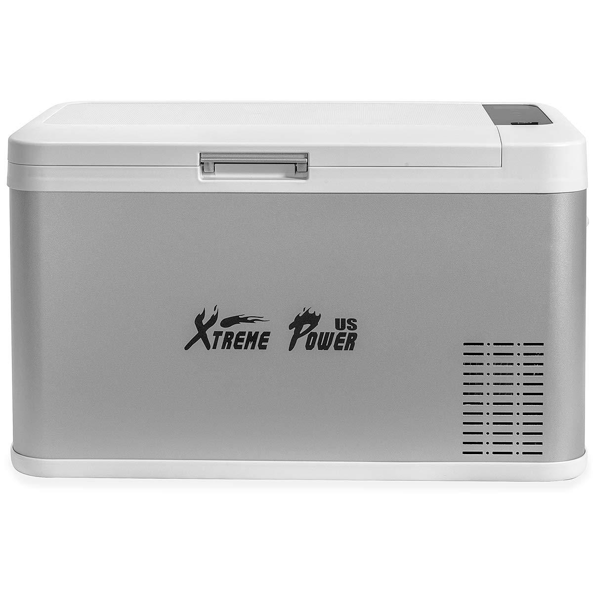XtremepowerUS Portable Electric Cooler 26 Quart (Bluetooth Function) Refrigerator Adjustable Temperature Display Vehicle Car Mini Fridge ECO by XtremepowerUS (Image #2)