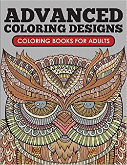 Amazon.com: Advanced Coloring Designs: Coloring Book for Adults ...