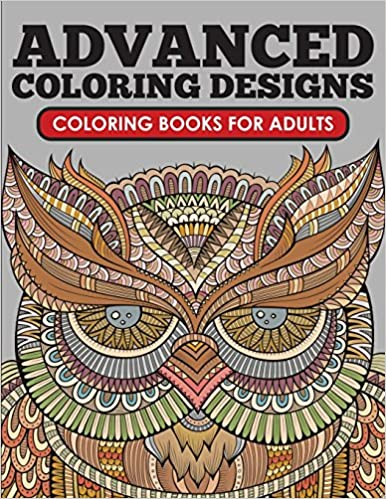 Amazon Com Advanced Coloring Designs Coloring Book For Adults