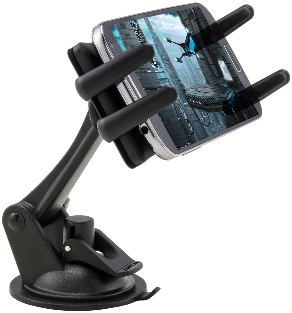 Arkon Windshield Dash Phone Car Mount for iPhone X 8 7 6S Plus 8 7 6S Galaxy Note Edge 8 S8 S7 Retail Black