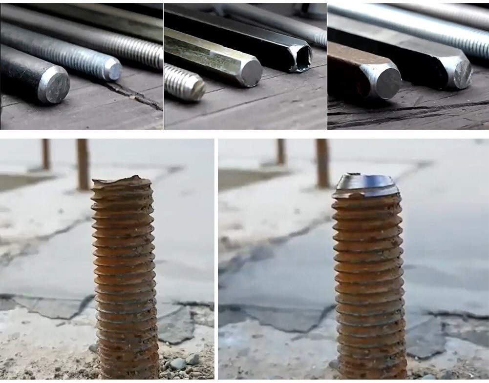 Color : Silver, Hole Diameter : One Size Metal Deburring Tool for Chuck Drill Tool Long Lasting Firm Drill 1 Piece Deburring External Chamfering Tool