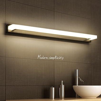 Amazon.com: KTYX Mirror Lamp Led Waterproof Anti-fog Bathroom ...