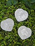 Cheap Mini Fairy Garden Leaf Stepping Stones – Miniature Fairy Garden, Village Accessories Decoration Pieces (9)