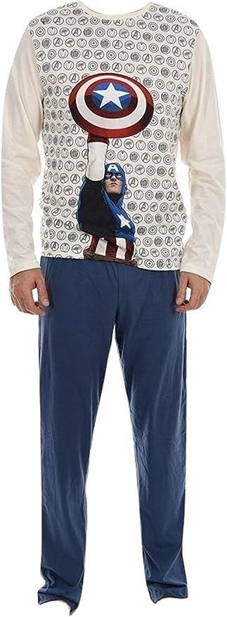 Marvel pijama largo hombre Captain America