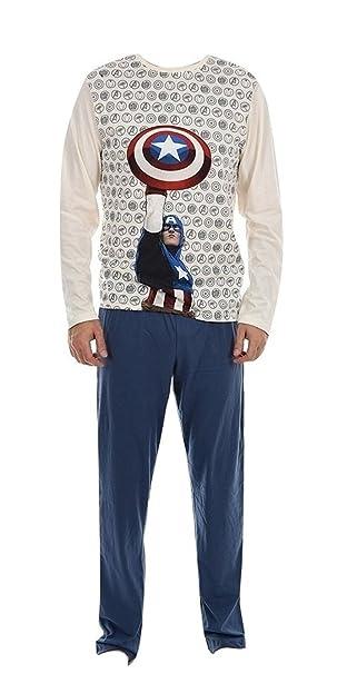 Marvel - Pijama - para hombre beige L