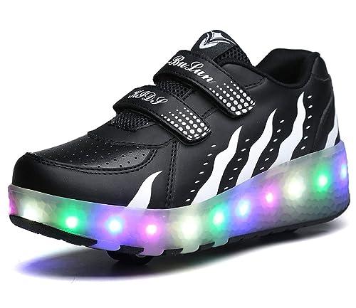 quality design 6c104 35e8d Scarpe con Ruote e LED Rotelle da Skateboard delle ...