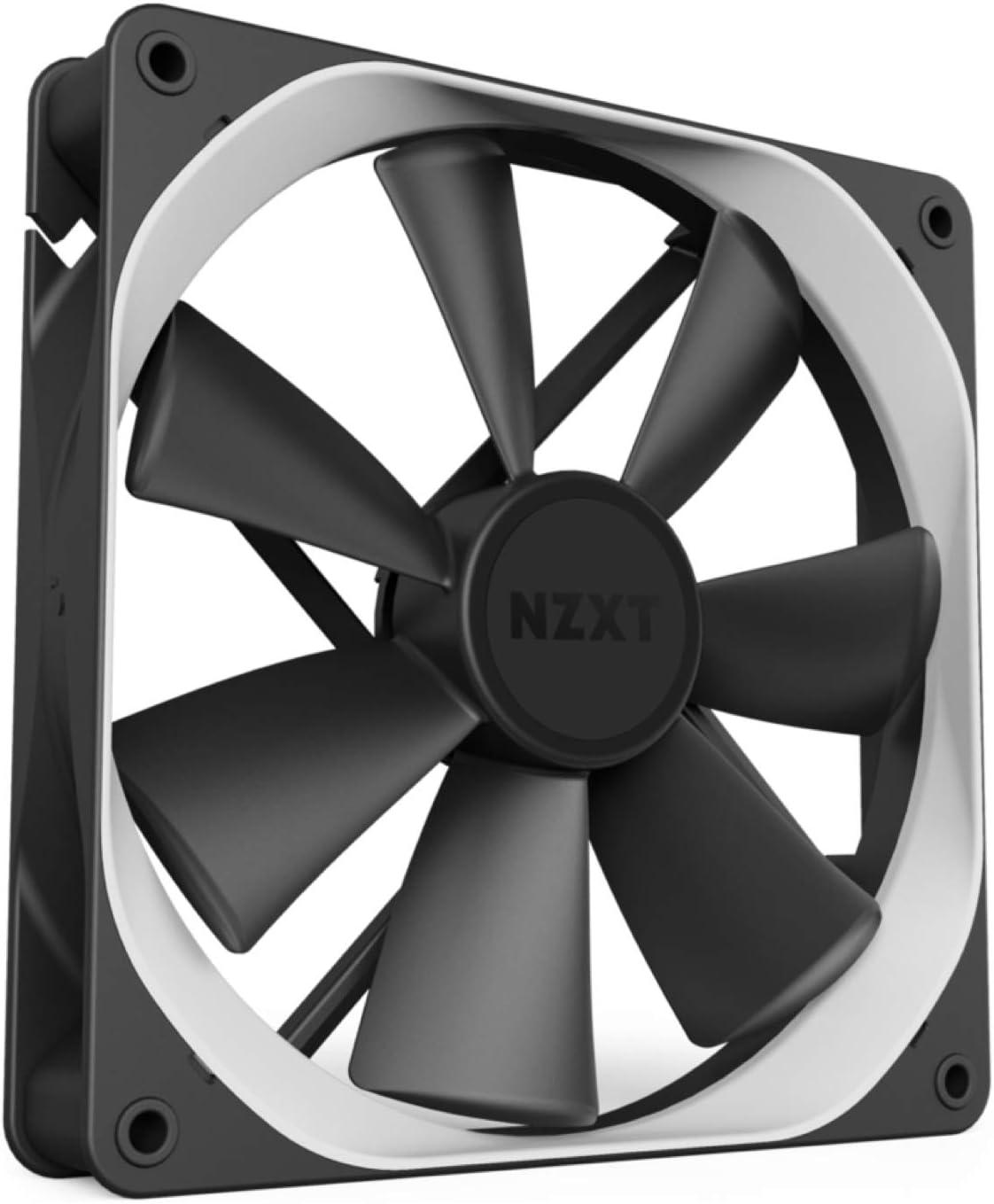 NZXT AER P - RF-AP120-FP - 120mm - Winglet Designed Fan Blades - Fluid Dynamic Bearings - PWM Static Pressure Fans - Gaming Computer Fan