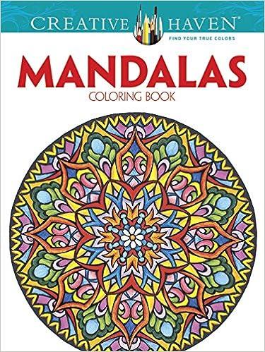 Amazon Creative Haven Mandalas Collection Coloring Book Adult 9780486803524 Dover Alberta Hutchinson Marty Noble Books