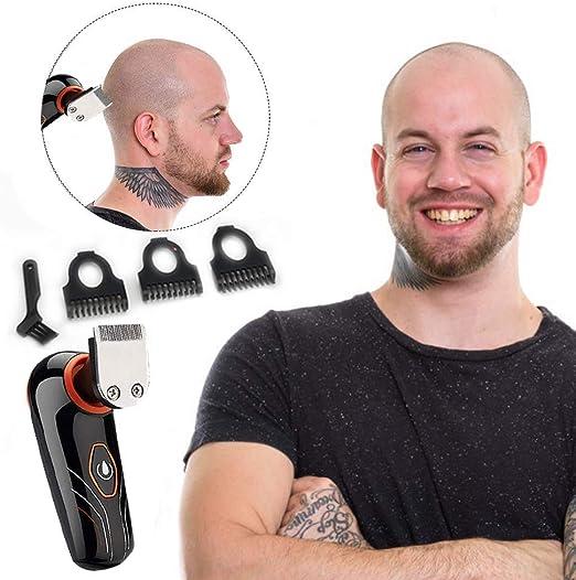 Afeitadora Electrica Hombre Recortador de Barba Maquinilla De ...