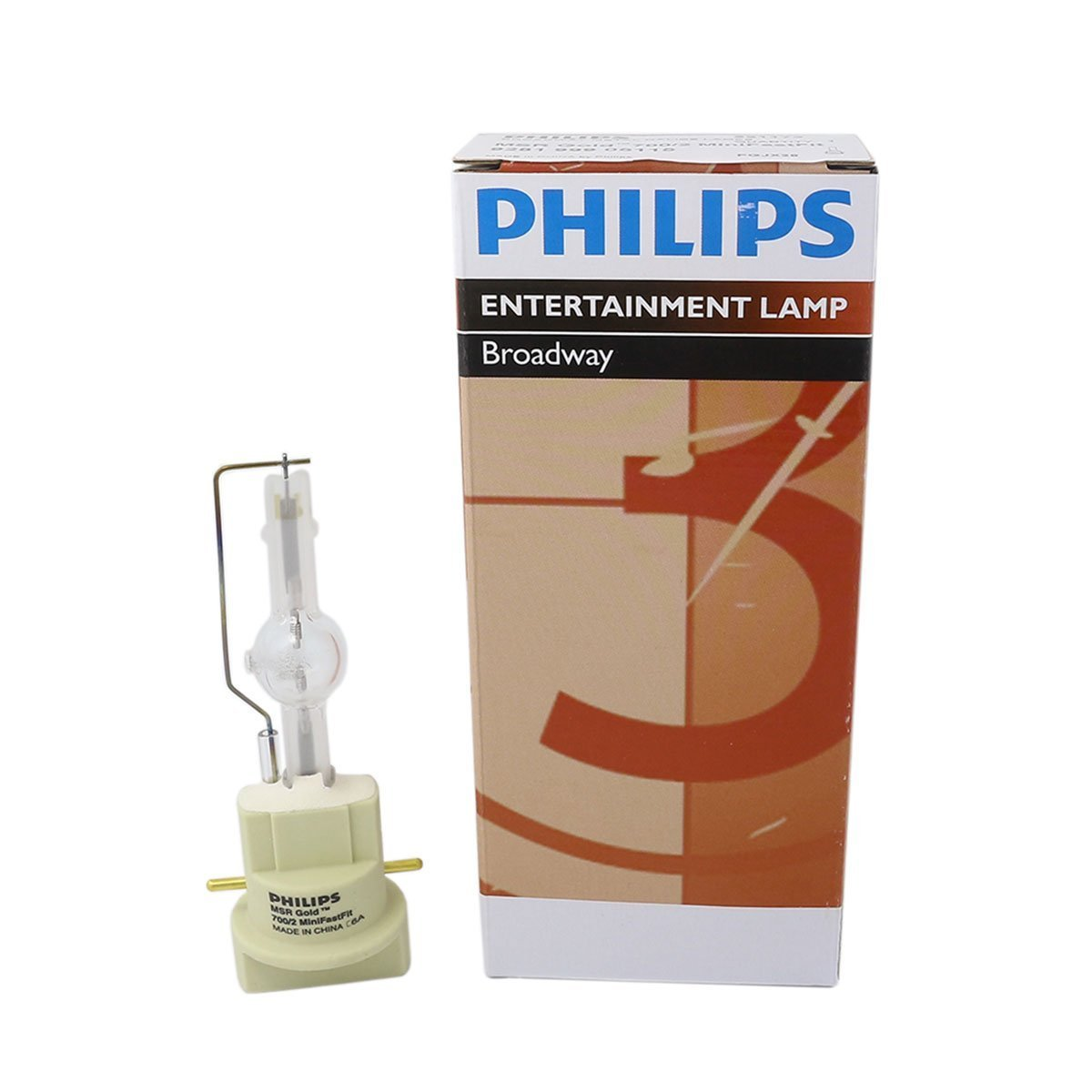 Philips MSR Gold 700/2 MiniFastFit 700W AC Lamp for Touring/Stage Lighting