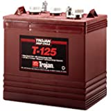 Trojan T-125 6V 240Ah Flooded Lead Acid GC2 Deep Cycle Battery FAST USA SHIP
