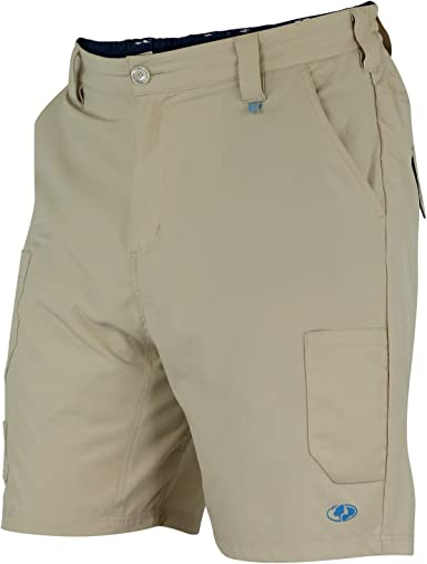 Fishing Mossy Oak Mens Quick Dry Hiking Shorts for Outdoor Tactical Use
