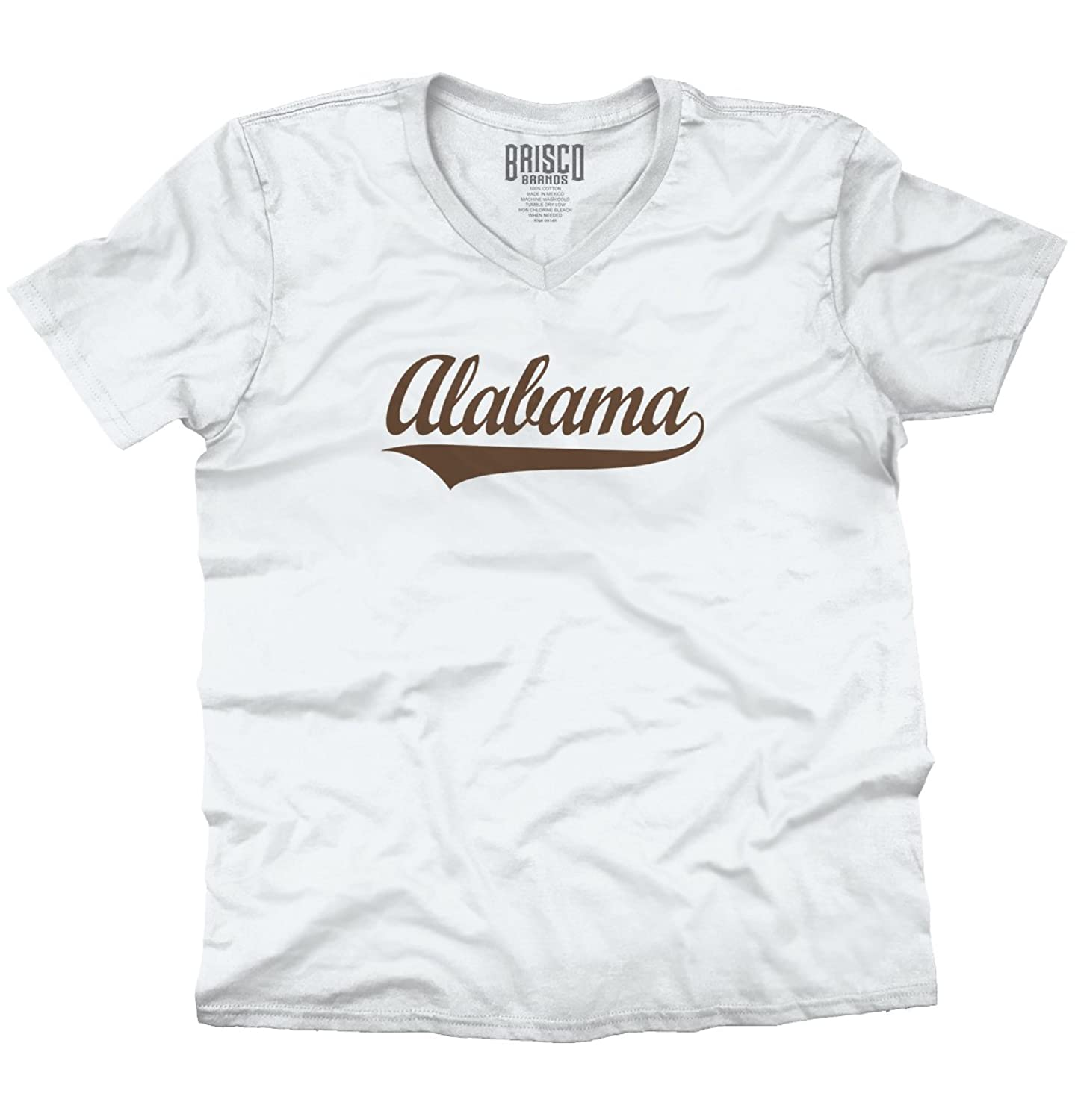 Alabama State Pride College University Hometown Apparel V-Neck T-Shirt