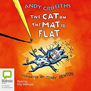 The Cat on the Mat is Flat Audiobook