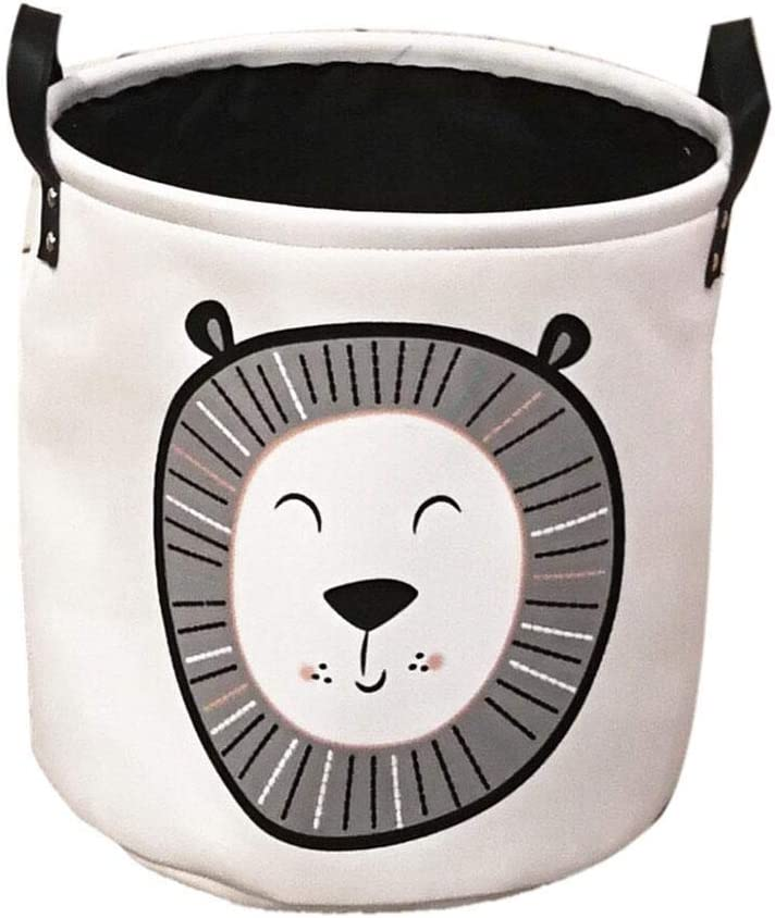 Ni/ña Zinsale Algod/ón y Lino Cestos para la Colada Bailarina Plegable Lavable Cesto de lavander/ía Juguetes para beb/és Cesta de Almacenamiento de contenedores