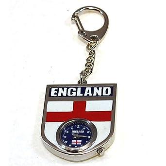 Amazon.com: Inglaterra Llavero Reloj en la Presentación ...