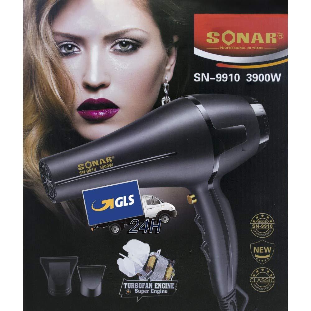 Trade Shop traesio- secador profesional secador de pelo Sonar sn-9910 3900 W Difusor fono para pelo: Amazon.es: Belleza