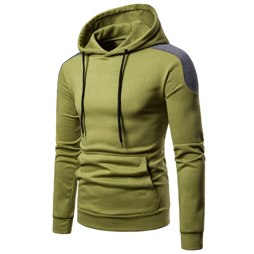 6acf2207c81c1 Beautyjourney Hoodie Full Zip❤️Longues Sweat à Capuche Pull Tops Sweat  Hoodie Hoodie Long Homme des Pulls pour Filles Patchwork Manches Longues ...