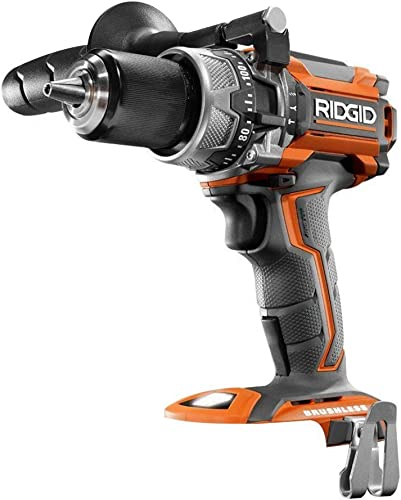 Ridgid R86116 18-Volt Lithium-Ion Cordless Brushless 1 2in Hammer Drill Tool Only – Battery and Charger NOT Included Renewed