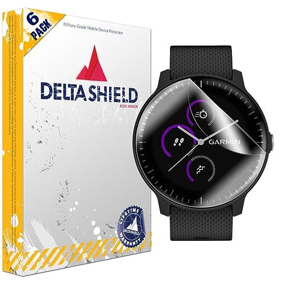 36cd2561c Garmin Vivoactive 3 Music Screen Protector [6-Pack], DeltaShield BodyArmor  Full Coverage