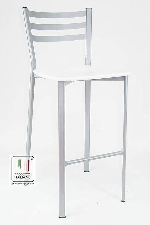 Sedie Sgabelli Cucina.Stil Sedie Sgabello Cucina Bar Ristorante Sala Slot Modello Flora Legno Bianco