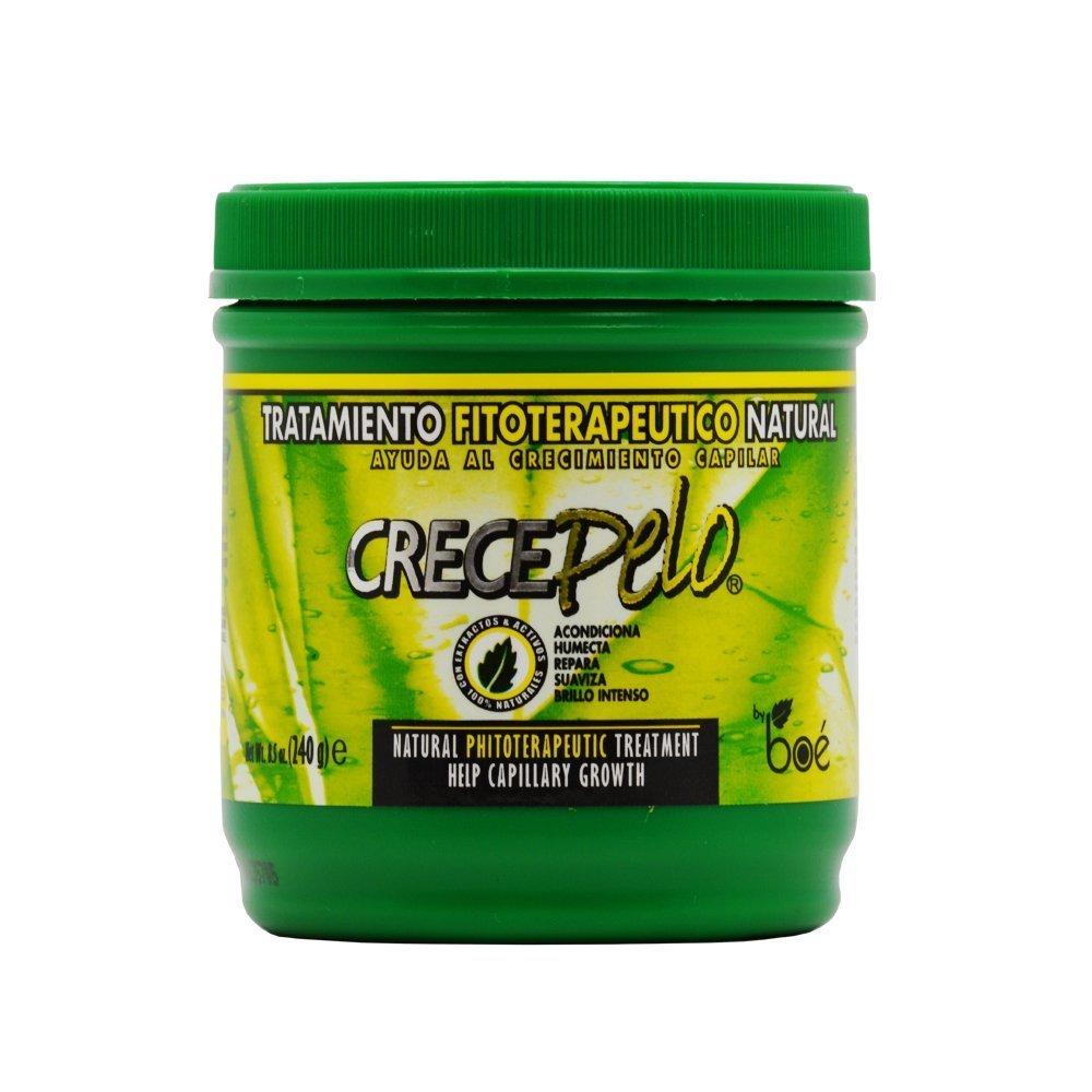 BOE Crece Pelo - Lote de productos para el crecimiento del cabello, mascarilla de 450 g, champú de 370 ml, acondicionador de 350 g y crecepelo revitalizante ...
