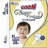 GOO.N 大王 光羽系列 环贴式纸尿裤 尿不湿 XL28片(适合12-17kg )