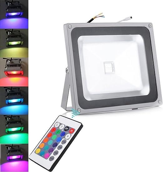 10W/20W/30W/50W/100W LED focos blanco cálido reflector Versátil ...