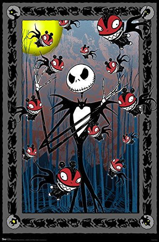 Trends International The Nightmare Before Christmas Tarot Wall Poster 22.375″ x 34″