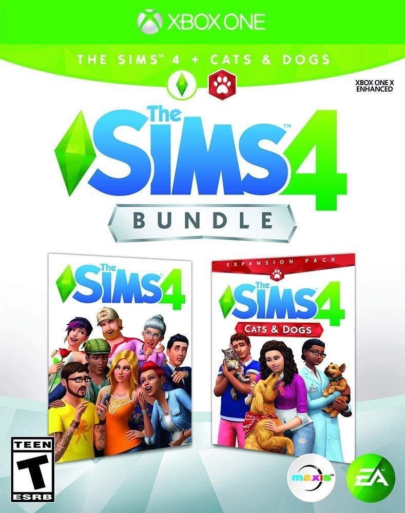Sims 4. Plus - Cats & Dogs Bundle for Xbox One [Usa]: Amazon.es ...