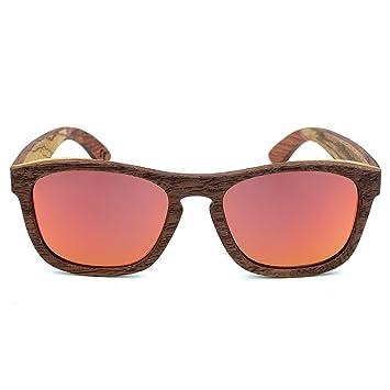Y-WEIFENG Estilo clásico Simple Artesanía Gafas de Sol con ...