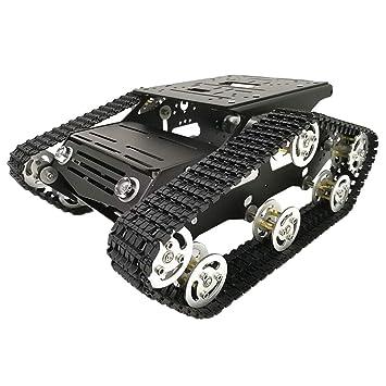 perfk Robot De Absorción Kit De Chasis del Coche Tanque con ...